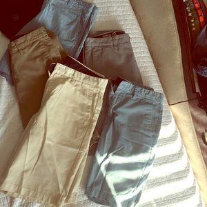 Men's shorts various colors size 31 & 32